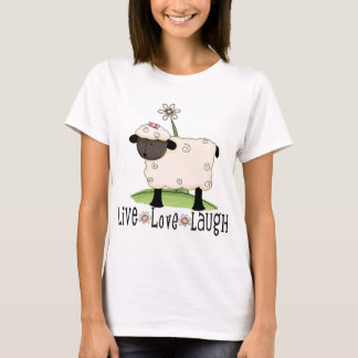 live-love-laugh-sheep T-Shirt