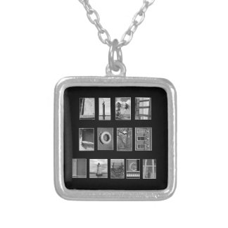 LIVE LOVE LAUGH Spelled out with picture letters Pendant