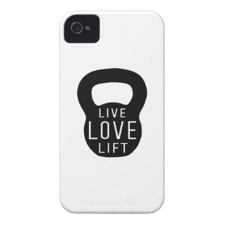 Live Love Lift iPhone 4 Case