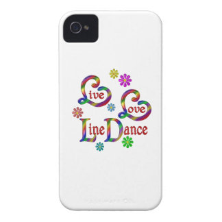 Live Love Line Dance iPhone 4 Case-Mate Cases