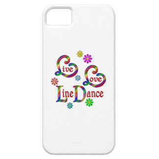 Live Love Line Dance iPhone 5 Cover