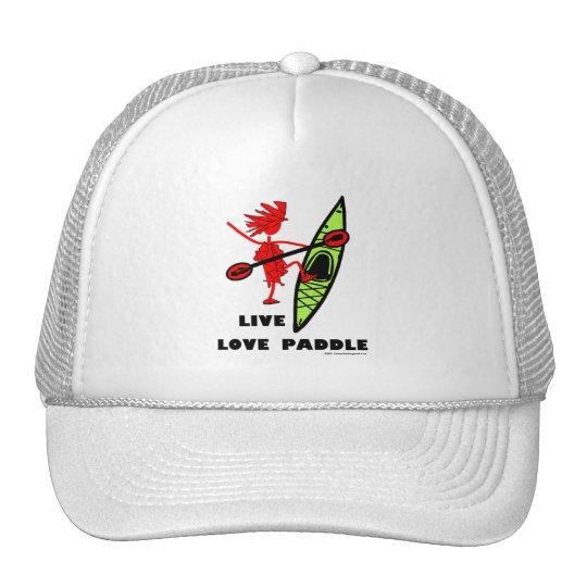 Live Love Paddle Cap
