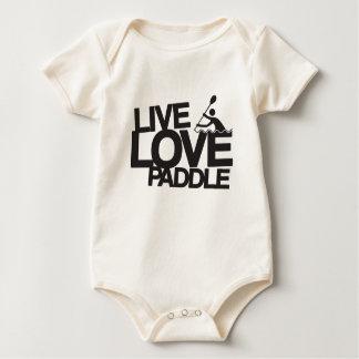 Live Love Paddle | Kayak Canoe Baby Bodysuit