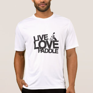 Live Love Paddle | Kayak Canoe T-Shirt
