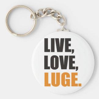 Live, Love, peeps Keychain