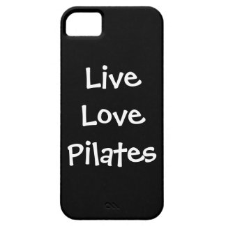 Live Love Pilates iPhone 5 Case