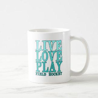 Live, Love, Play - Field Hockey Coffee Mug