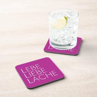 Live love puddle beverage coaster