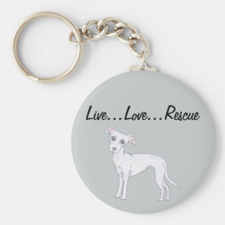 Live...Love...Rescue Key Ring