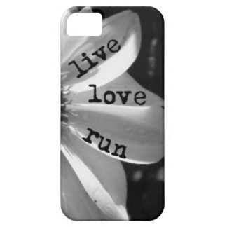 Live Love Run by Vetro Designs iPhone 5 Cases