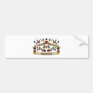 Live Love Sewing Bumper Sticker