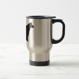 Live, Love & Show Belties Travel Mug