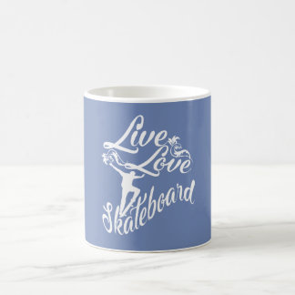 LIVE - LOVE - SKATEBOARD COFFEE MUG
