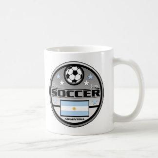 Live Love Soccer Argentina Basic White Mug