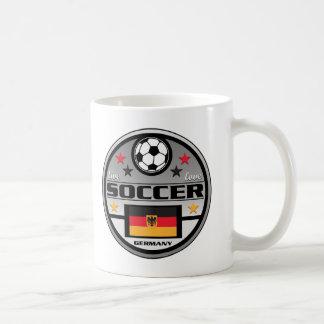 Live Love Soccer Germany Coffee Mugs