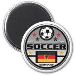 Live Love Soccer Germany Refrigerator Magnet