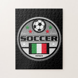 Live Love Soccer Italy Jigsaw Puzzle