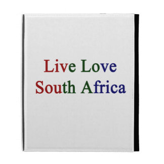 Live Love South Africa iPad Case