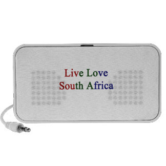 Live Love South Africa iPod Speakers