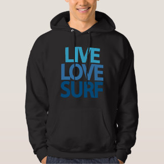 Live Love Surf Hooded Sweatshirt