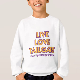 Live Love Tailgate  Tiger Tailgating Tee Shirts