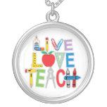 Live Love Teach Jewelry