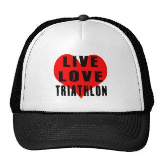 Live Love Triathlon Trucker Hats