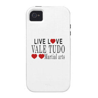 LIVE LOVE VALE TUDO MARTIAL ARTS iPhone 4/4S COVERS