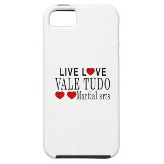 LIVE LOVE VALE TUDO MARTIAL ARTS iPhone 5 COVERS