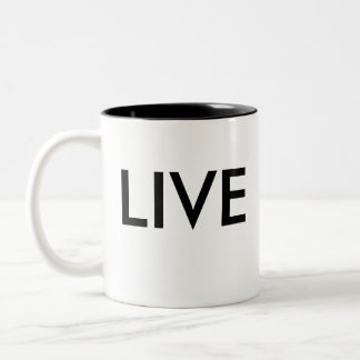 Live Love Yin Yang Coffee Mug
