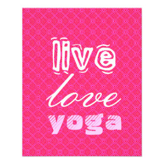Live. Love. Yoga Flyer