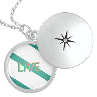 Live Modern Trendy Color Locket Necklace
