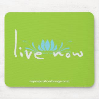 Live Now Mousepad