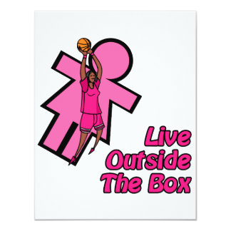 Live outside the box custom invites