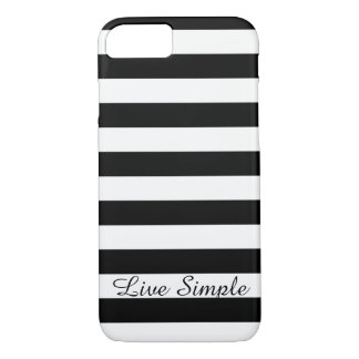 Live Simple iPhone case