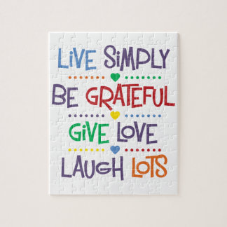 Live Simply Jigsaw Puzzles