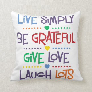 Live Simply Pillows