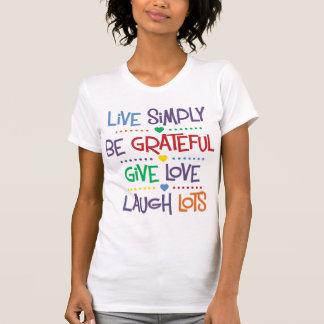 Live Simply Tshirts