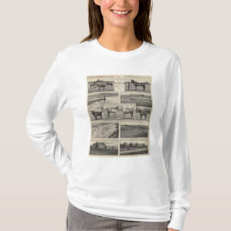 Live Stock in Kansas T-Shirt
