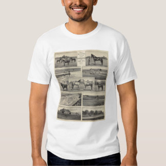 Live Stock in Kansas T Shirts