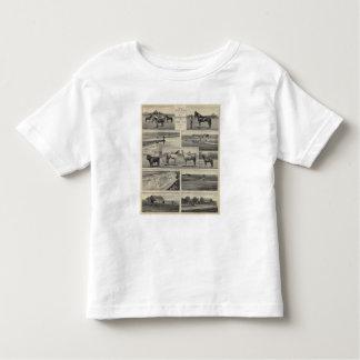 Live Stock in Kansas Toddler T-Shirt