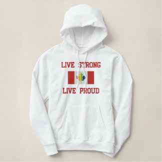 Live Strong, Live Proud Gay Pride Sweatshirt