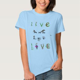 live t shirt