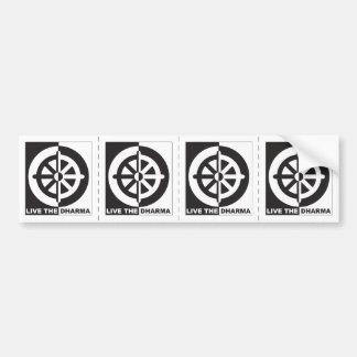 Live the Dharma Bumper Sticker