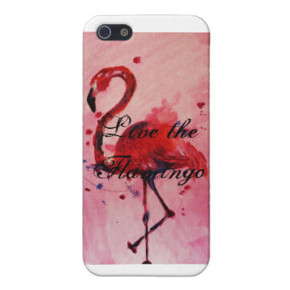 Live the flamingo - Iphone 5 covering/Case Case For The iPhone 5