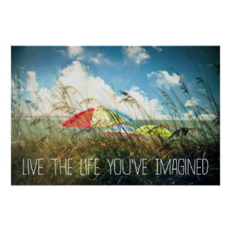 Live the Life Poster/Print