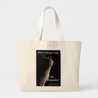 Live the question Tote bag