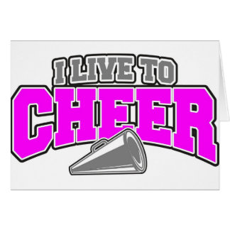 Live To Cheer Cards