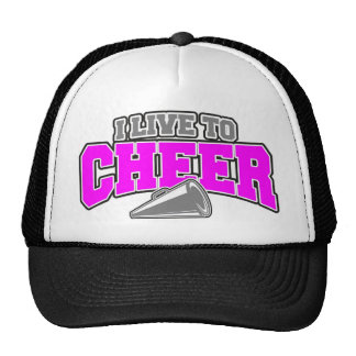 Live To Cheer Trucker Hat