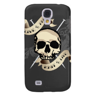 Live to Knit Hard Shell Case for iPhone 3G/3GS Galaxy S4 Case